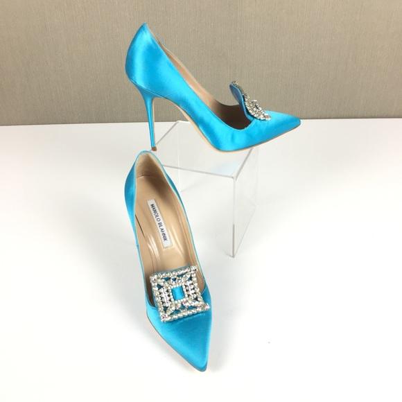 eb756aa4 Manolo Blahnik Shoes | Heels Size 37 | Poshmark